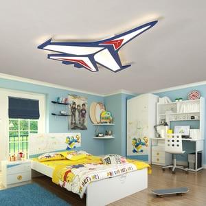 Image 3 - Modern karikatür uçak tavan lambası LED çocuk çocuk bebek odası yatak odası tavan ışıkları ev kapalı yüzeye monte aydınlatma armatürleri