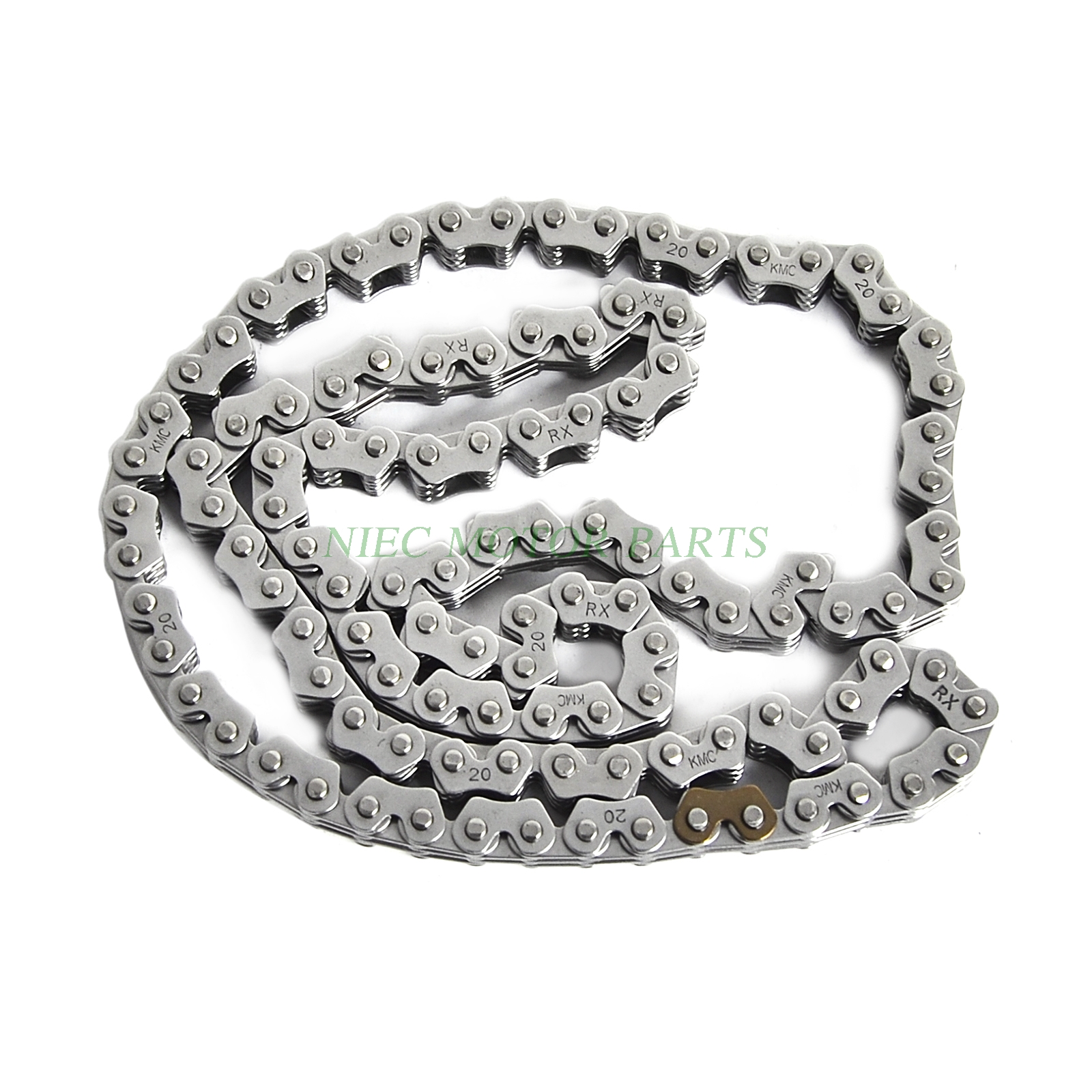 KMC Camshaft Chain Cam Timing Chain For Suzuki DR250 1995-2001 LT-Z400 2003-2015 DR-Z400E/S/SM DRZ400 2000-2016