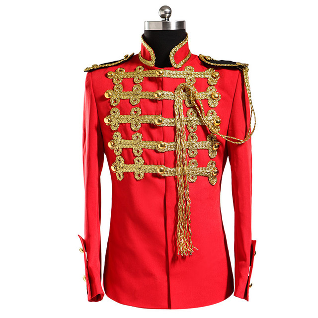 Stage wear red jacket Men\'s prom blazer Plus size Male royal formal dress  set male formal dresses performance clothes outerwear-in Suits from Men\'s  ...