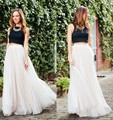 2016 New Fashion Hot Seller Long Woman Tull Skirt Ladies Vintage Gowns Natural Color Female Summer Party Skirt Free Shipping