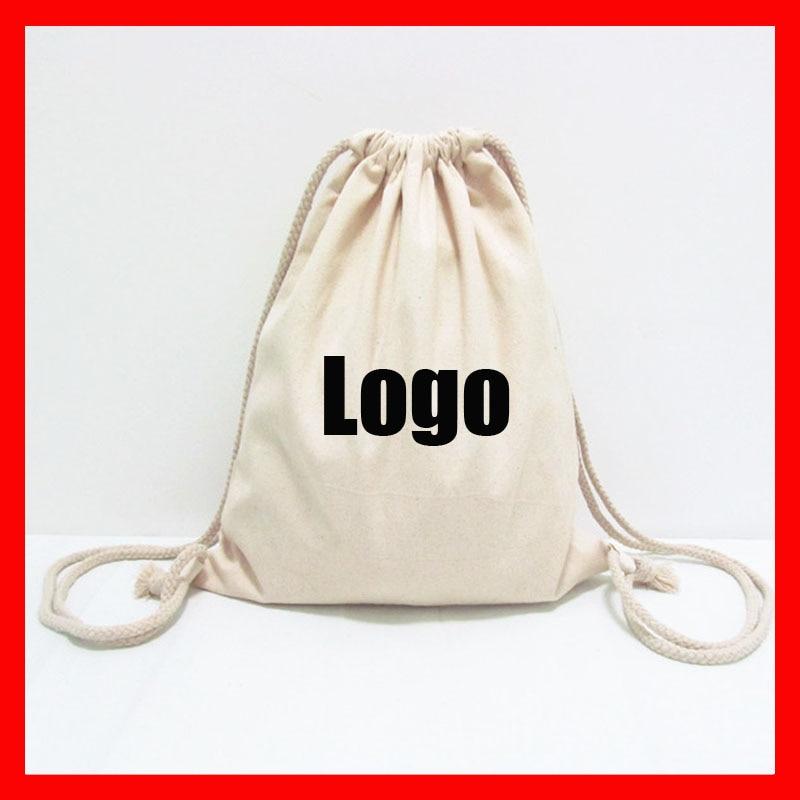 (100pcs/lot) Size 20x30cm  Custom Drawstring Backpack For Kids