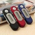 2016 New Arrival Portátil Tela LCD Digital USB MP3 Music Player Suporte 32 GB TF & FM Rádio