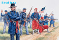 Out of print product! Italeri model 6012 1/72 Union Infantry and Zouaves plastic model