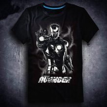 2018 New Film Avengers 3 Infinity War T-shirt Anime Iron Man loki T-shirts Fashion Cartoon Cosplay Tops Tees