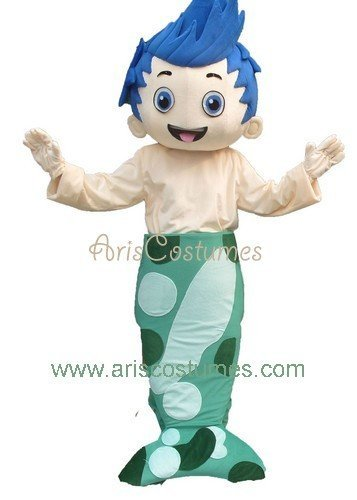 Hot Sale! Bubble Guppies Costume Gil mascot costume cartoon costumes free shipping