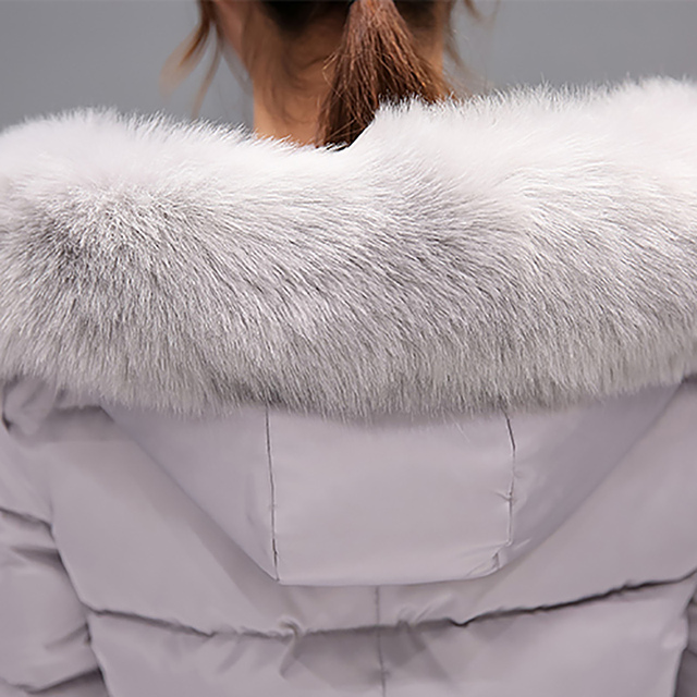 Winter jacket women 2018 new female parka coat feminina long down jacket plus size long hooded duck down coat jacket Women 5