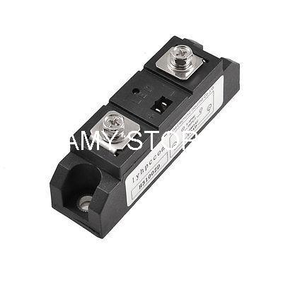 DC to AC Solid State Relay SSR 100A 3-32V DC to 75-480V AC H3100ZD normally open single phase solid state relay ssr mgr 1 d48120 120a control dc ac 24 480v