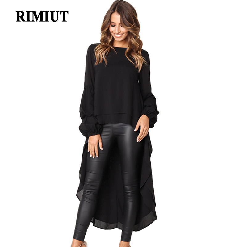 Rimiut New Arrival 2XL <font><b>3XL</b></font> Autumn Winter <font><b>Sexy</b></font> Ruffled Long Sleeve Irregular Women <font><b>Dress</b></font> Big Size Elegant Party <font><b>Dress</b></font> image