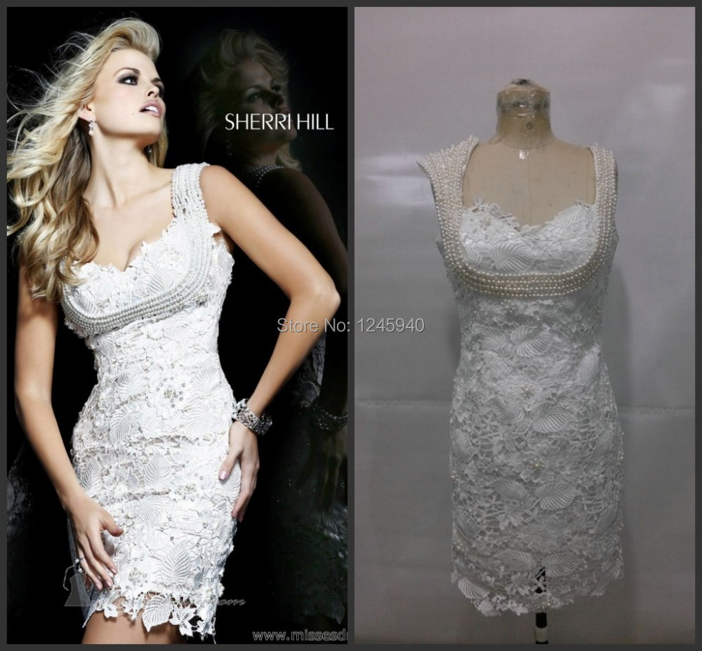 New western white lace formal italian sexy see through cocktail new western white lace formal italian sexy see through cocktail party dresses short patterns for teenagers girls 2014 in evening dresses from weddings ombrellifo Image collections