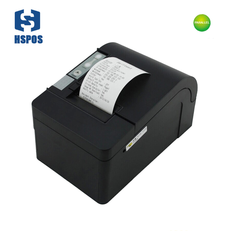 58mm thermal receipt printer with auto cutter parallel interface big gear wheel billing machine HS-T58KPC with one year warranty xprinter thermal printer pos58mm usb interface thermal receipt printer mini pop printer with auto cutter