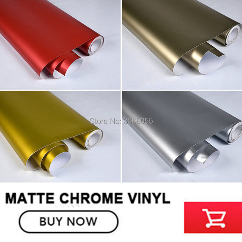 Image 5 - make small profits But quick turnove Car styling Matte Chrome Ice Vinyl Film  Matte Chrome Vinyl Wrap Auto film any size-in Car Stickers from Automobiles & Motorcycles