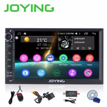 Joying Newest Android 6.0Marshmallow Double 2 Din 7″ DVD Player Universal GPS Navigation Car radio Support DAB+ TV Bluetooth USB