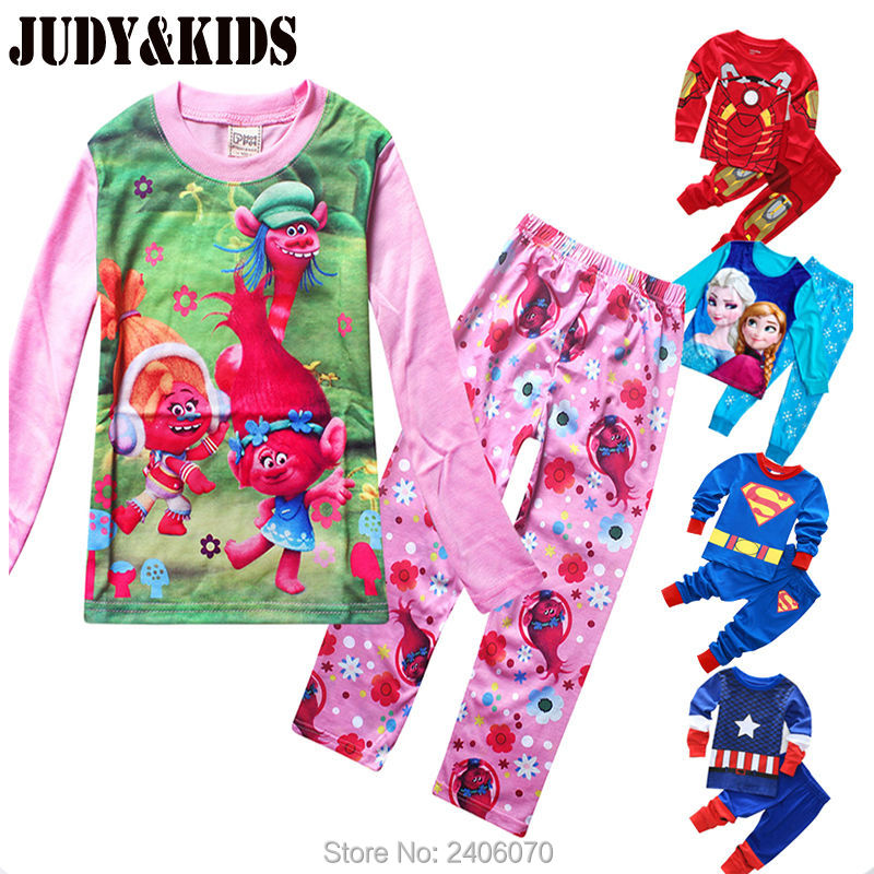 Online Buy Wholesale boys superhero pajamas from China boys ...