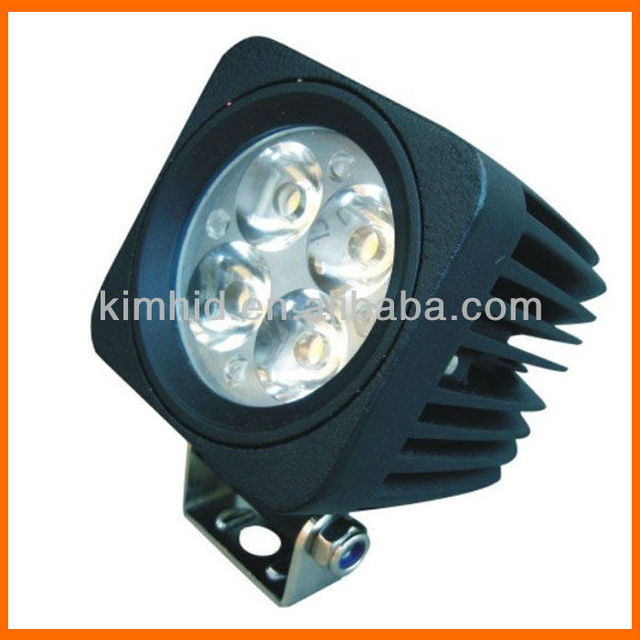 "HOT! Popular! Free shipping! 2"" 12W 12V CREE Chip LED work light 6000K 900 lumens/pcs motorcycle headlight"