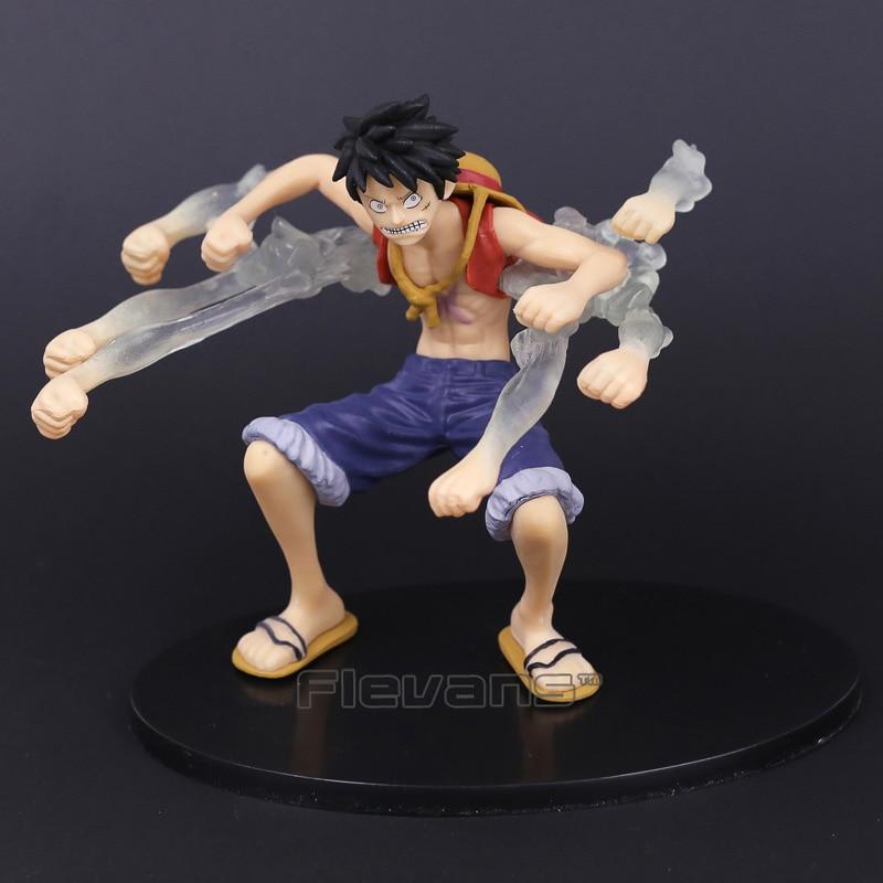 Anime One Piece SCultures BIG Banpresto Figure Colosseum Gear Fourth Monkey D Luffy Special Color ver. PVC Figure Toy 14cm