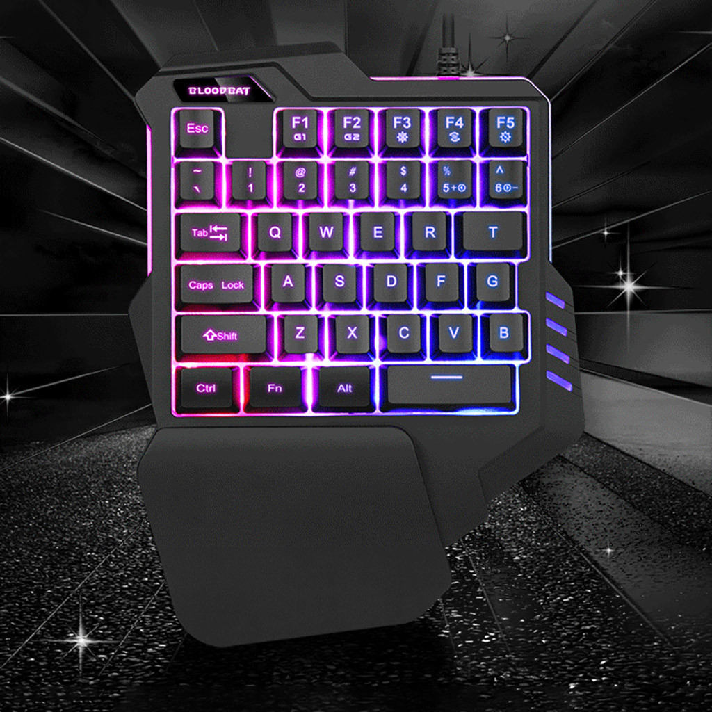 RYX One-Handed Keyboard Mechanical Gaming Keyboard Wired one-Handed Keyboard