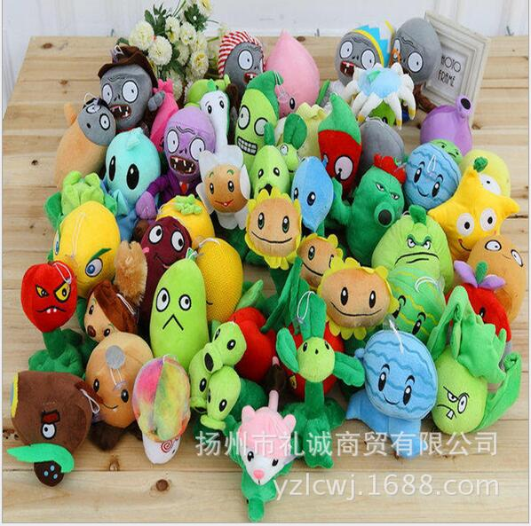 Plants vs Zombies 20 Styles Plush Toys 12 - 28 cm Plants vs Zombies Soft Plush Toys Doll Toy for Children Game Toys Gifts hot sale plants vs zombies cucumber plush toy doll game figure statue baby toy for children gifts party toys