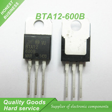 20pcs BTA12-600B BTA12 BTA12-600 Triacs 12 Amp 600 Volt  TO-220 new original