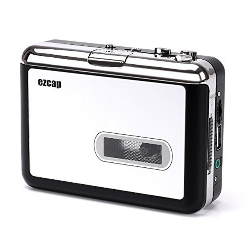 2017 HOT Nostalgia USB Cassette To MP3 Converter Retro Tape Player Convert Adapter With Thumb/Flash Drive USB-Dis Record Set21