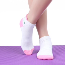 FANGCAN Sports Yoga Sock Outdoors Women's Particle Abrasion Cotton Terry Towel Background Antibacterial Yoga Socks