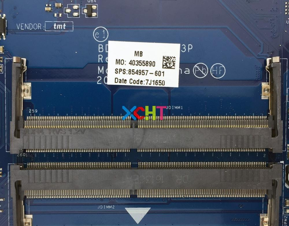 Image 3 - for HP Notebook 15 15Z 15 BA 15Z BA000 Series 854957 601 854957 001 BDL51 LA D713P UMA A10 9600P Laptop Motherboard Tested-in Laptop Motherboard from Computer & Office
