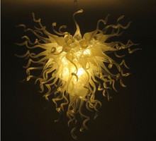 Chihully Glass Chandelier Indoor Lighting LED Bulbs Saving Light Fixture Modern Hanging Lamps