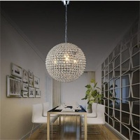Big Discount Luxury led round crystal chandeliers restaurant chandeliers bedroom study crystal chandeliers for voltage 90-260V