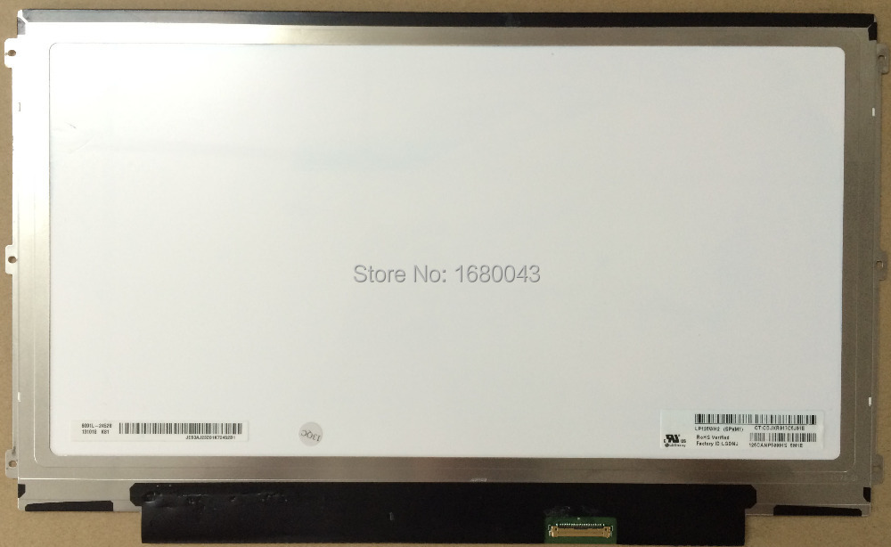 ФОТО Free Shipping LP125WH2 SPM1 eDP 30 pin Left+right 3 screw holes LED LCD Screen Display Panel IPS Display