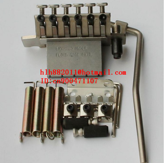 free shipping new double wave electric guitar bridge in matte  BL001   HC-03 free shipping hot 5150 double wave electric guitar in the lottery maple