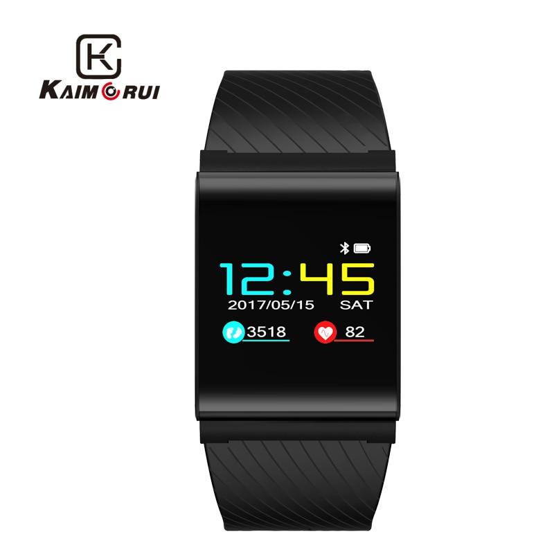 Kaimorui X9 Pro Smart Wristband Colorful Screen Smart Bracelet Heart Rate Monitor Pedometer Waterproof Bluetooth 4.0 Smart Watch bluetooth runner x9 red