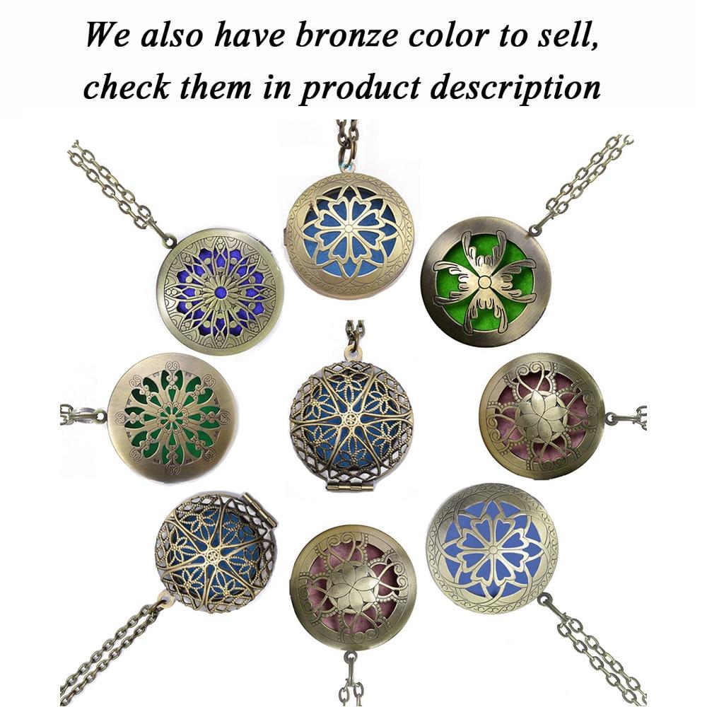 1пц 70цм Винтаге Ароматерапиа Парфум - Модни накит - Фотографија 6