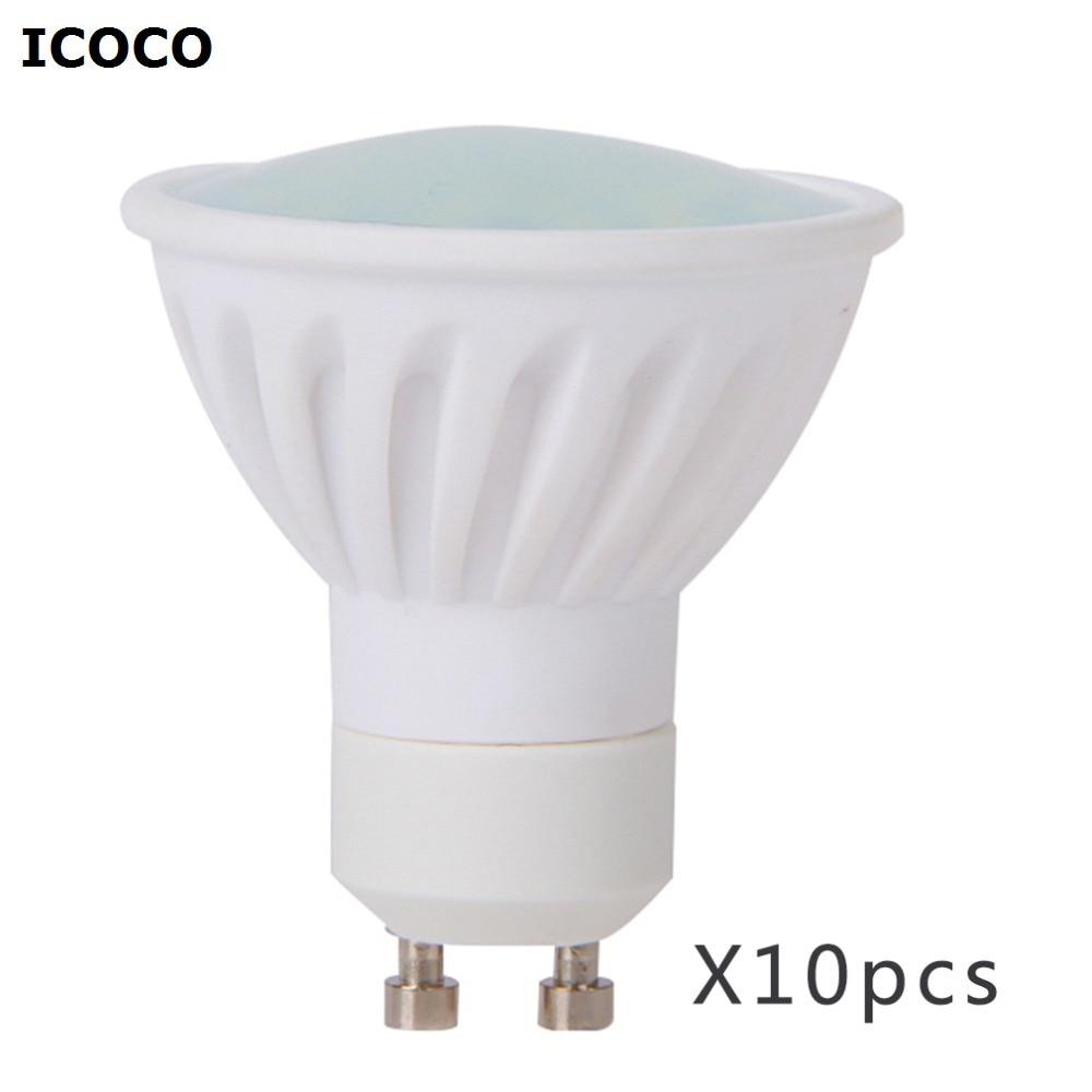 10 pcs Clearance Sales High Power 10 Pcs Ceramic 6W 28 SMD2835 LED Bulbs GU10 New Design Spot Light 50W Day White автоинструменты new design autocom cdp 2014 2 3in1 led ds150