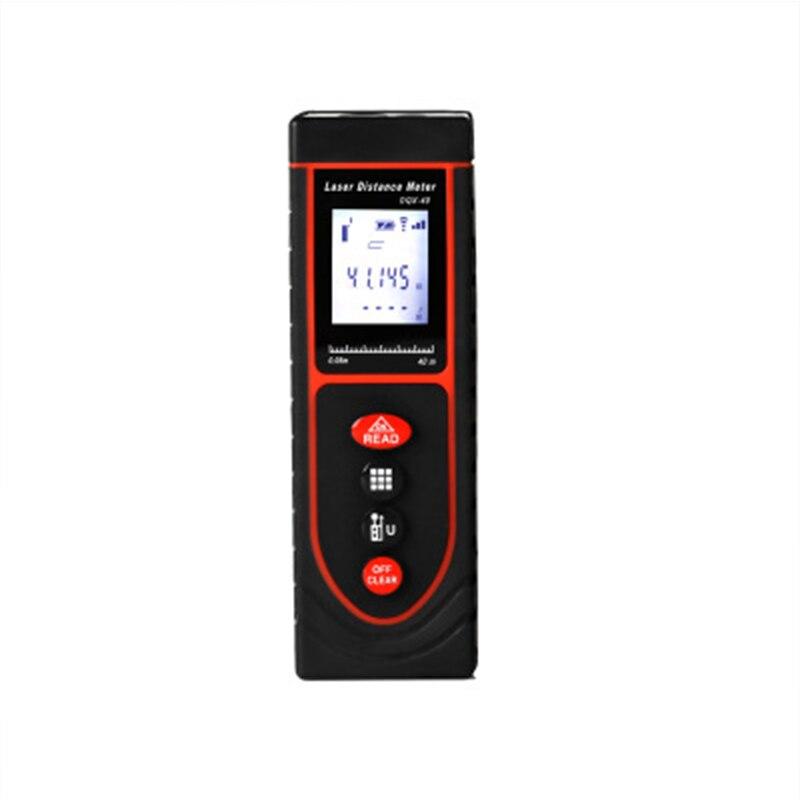 Small Size 40M 50M 60M Multi Function Range Finder Infrared Measuring Instrument Digital Measuring Room Ruler Laser Range Finder