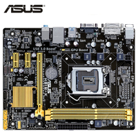 LGA 1150 ASUS H81M K Motherboard Micro ATX H81M K Systemboard H81M DDR3 For Intel H81 16GB Desktop Mainboard USB 3.0 H81MK Used