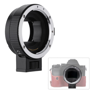 Image 3 - Andoer EF NEXII פוקוס אוטומטי AF עדשת מתאם טבעת אנטי לנער עבור Canon EF EF S עדשה לשימוש עבור Sony NEX E הר מצלמה מלא מסגרת