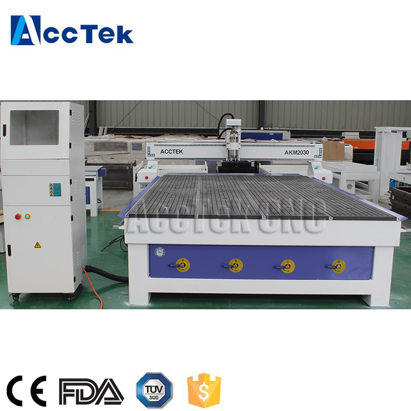 China High Quality Wood Cnc Router With Vacuum Table 2030 Vacuum Cnc Router For Sale
