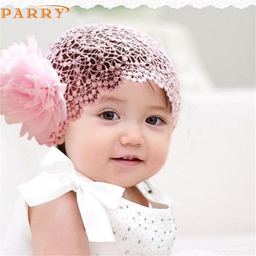 PARRY Best seller drop ship Flower Toddlers Infant Baby Girl Princess Headband Hair Band Headwear Pink hair accessories Feb7 S30