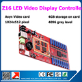 Free shipping Ready to ship 5pcs Kaler Z16 led display control card full color asynchronous video card for indoor outdoor panel