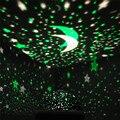 Sol E Estrela Da Lâmpada de Iluminação 4 LEVOU Talão 360 Graus Romântico sala de Rotação Cosmos Estrela Estrelado Lua Night Sky Projector de Luz Da Lâmpada