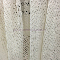 The New Dyed Wave Mesh Cloth Knitted Lace Fabric Upscale Cloth Polyester Fabric Polyester Lace Dress