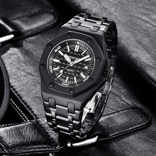 BENYAR Men's Watches 2019 New Stainless Steel Luxury Brand Watch men Waterproof military  quartz wristwatches Relogio Masculino