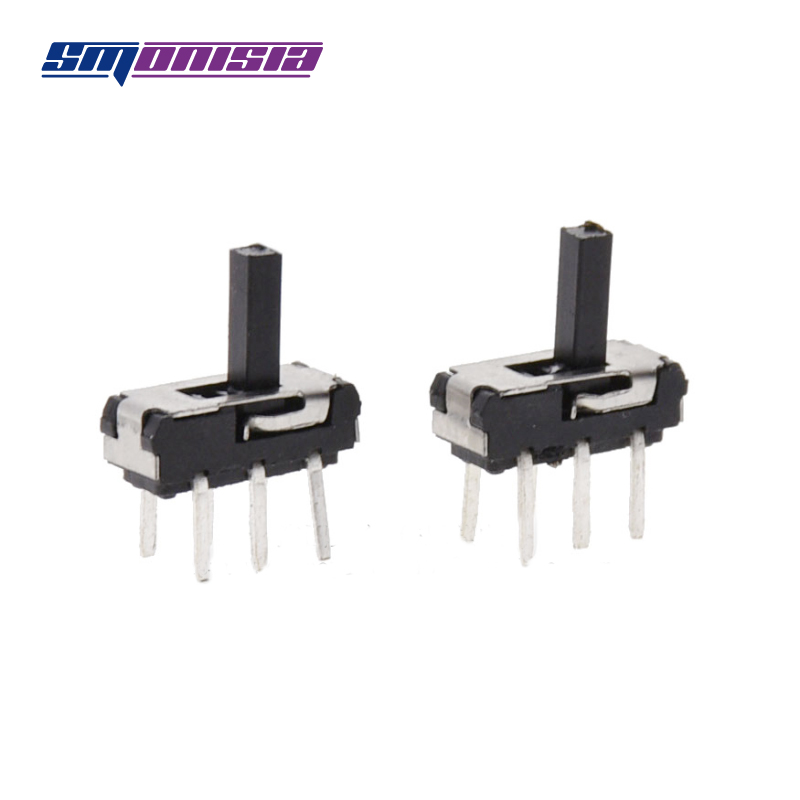 1000pcs S22D18 Inline Vertical 6-pin Toggle Switch MSS22D18G5 2P2T Double Row Two Files Switch