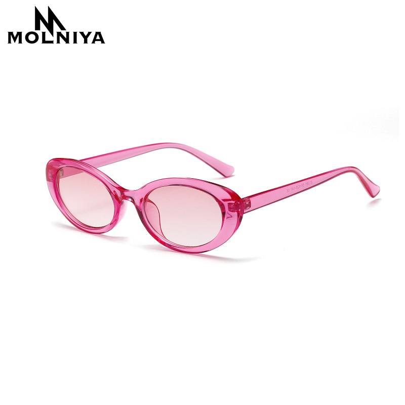 MOLNIYA Small Oval Sunglasses Ms. 2018 Designer High Quality Cool - Kledingaccessoires - Foto 4