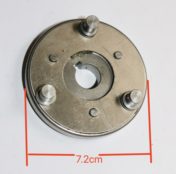 Diameter:72mm  Electric Vehicle Motor Gear ClutchDiameter:72mm  Electric Vehicle Motor Gear Clutch
