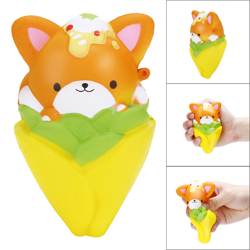 12CM Squishy Pinecone Bear Cream Scented Slow Rising Stress Reliever Squeeze Toy For Kid Children Boy Girl A1