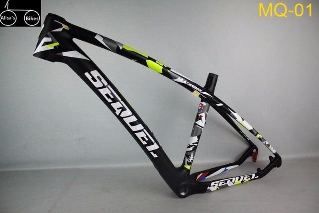 Venta caliente marco de la bici del carbón MTB completa Toray T800 ...