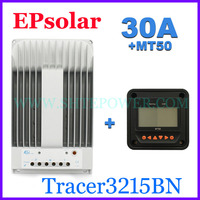 EPEVER 30A mppt charge controller for solar panel 12v 24v auto work with computer connection Tracer3215BN