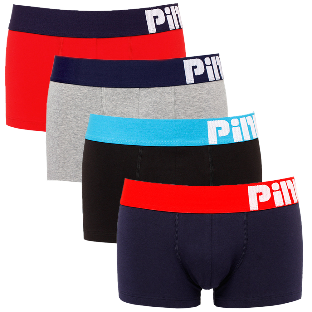 NXY Cotton cueca boxer Pink Hero Series mens underwear boxers 4 pack boxer men gift shorts men