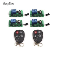 Universal Wireless DC 12V 10A 315MHz 433MHz Remote Control Switch Transmitter With Wireless Remote Control 4