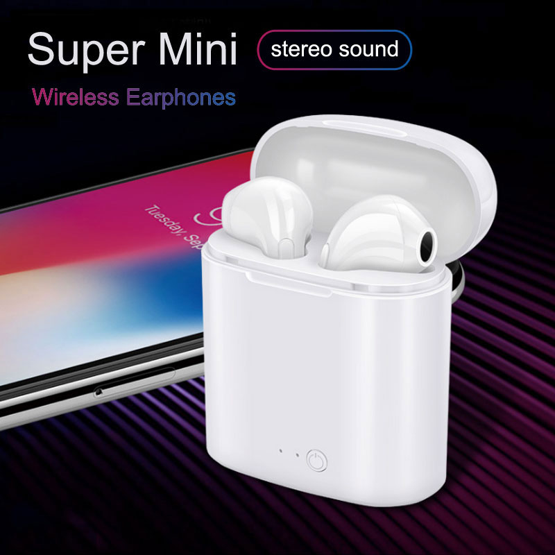 e43277c17a i7s Wireless Bluetooth Earphone For air pods All Smart Phone TWS Inear  Stereo Earbud